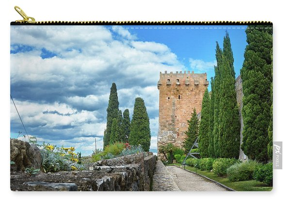 Like A Fortress In The Sky Carry-all Pouch