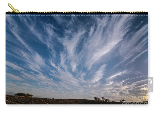 Like Feathers In The Sky Carry-all Pouch