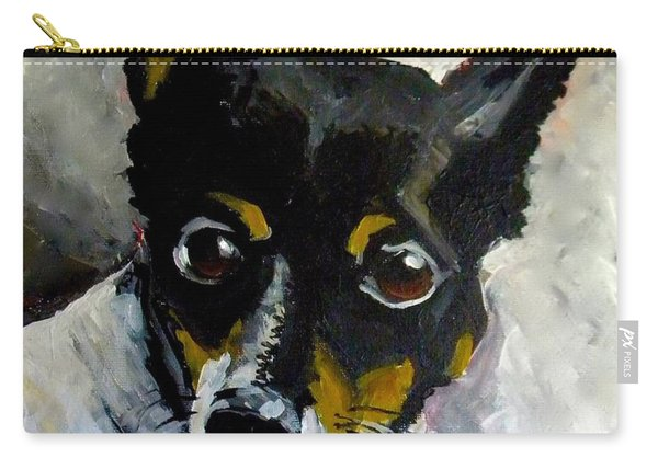 Lil Rat Terrier Carry-all Pouch