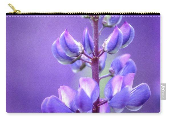 Lilac Bluebonnet Flower Carry-all Pouch