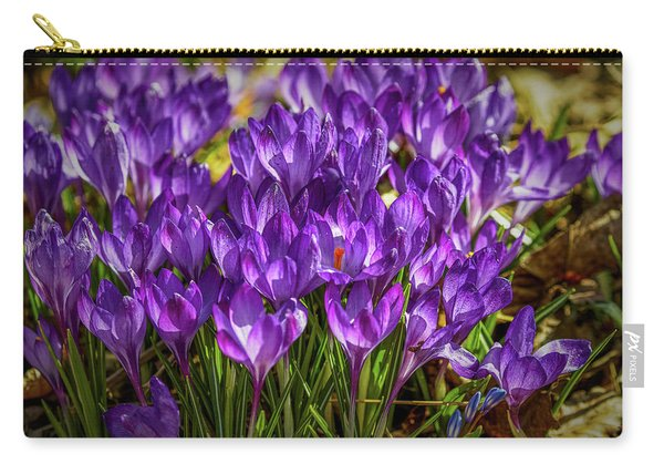 Lilac Crocus #g2 Carry-all Pouch
