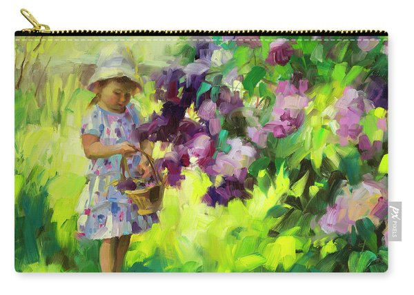 Lilac Festival Carry-all Pouch