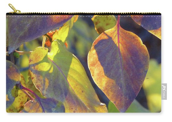 Lilac Leaves Carry-all Pouch