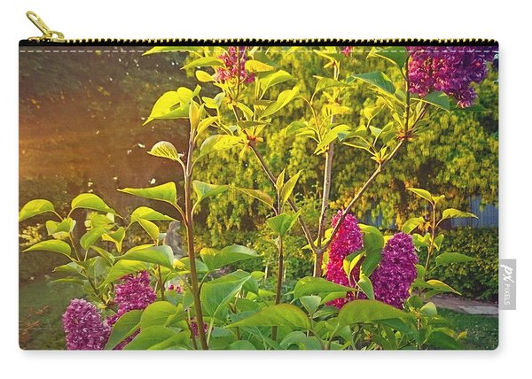 Lilac Tree Carry-all Pouch