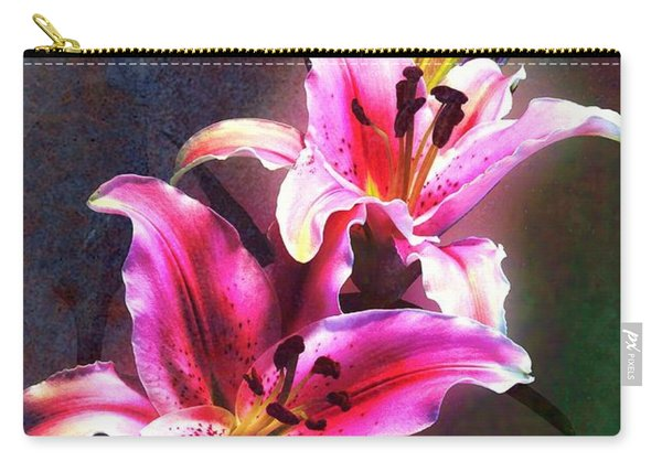 Lilies At Night Carry-all Pouch
