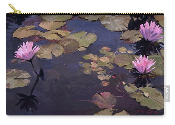Lilies II - Water Lilies Carry-all Pouch