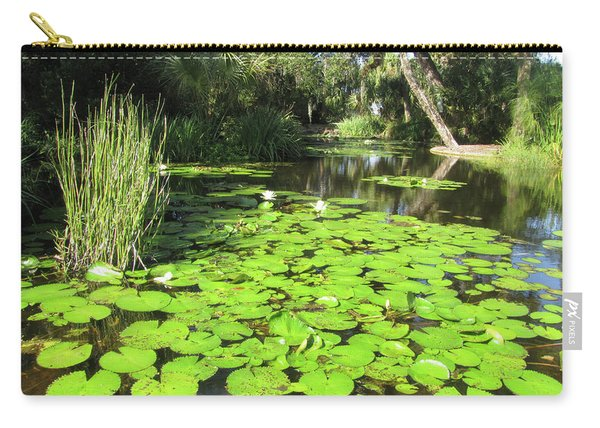 Lilies Of Bok Gardens Carry-all Pouch