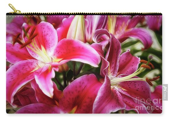 Lily At Dusk Carry-all Pouch
