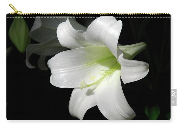 Lily In The Light Carry-all Pouch