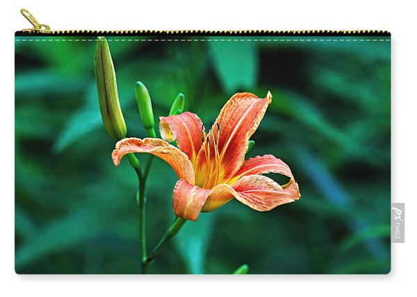Lily In Woods Carry-all Pouch