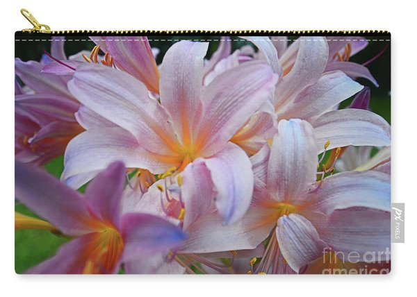 Lily Lavender Closeup Carry-all Pouch