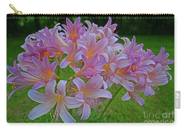 Lily Lavender Carry-all Pouch