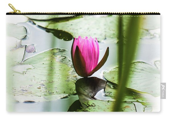 Lily Pad Red - 1001 Carry-all Pouch