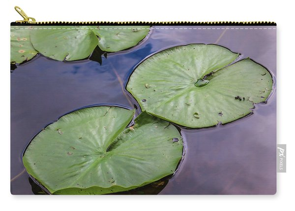 Lily Pad Reflections Carry-all Pouch