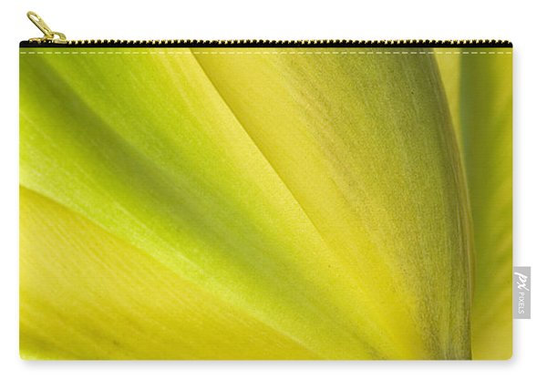 Lime Tulip Carry-all Pouch