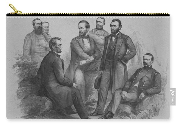 Lincoln And His Generals Carry-all Pouch