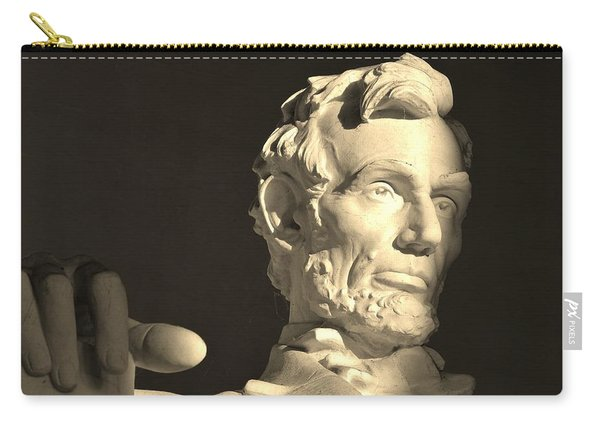 Lincoln At Sunrise Carry-all Pouch