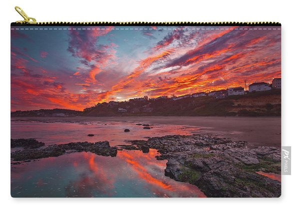 Lincoln City Sunrise Carry-all Pouch
