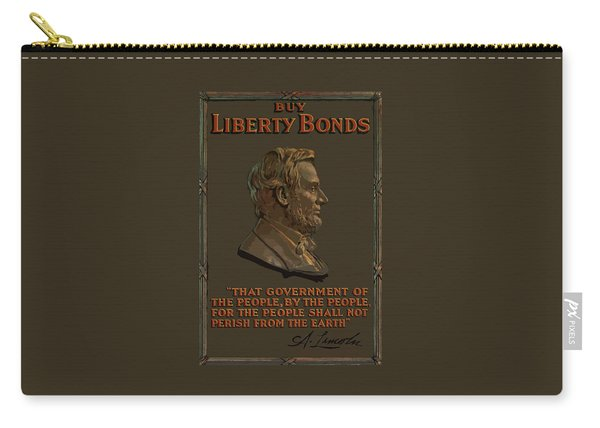 Lincoln Gettysburg Address Quote Carry-all Pouch