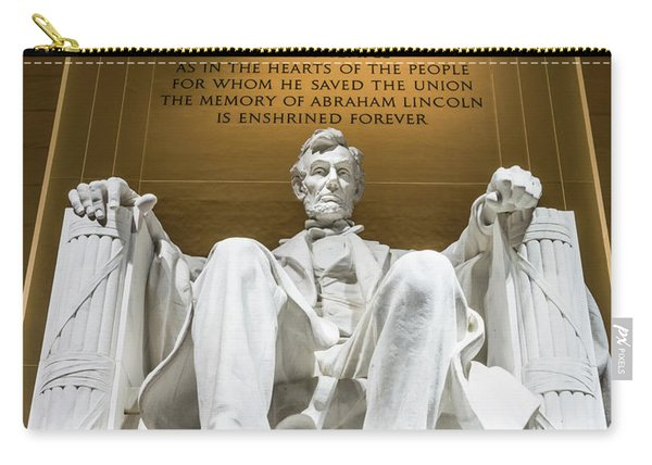 Lincoln Memorial 2 Carry-all Pouch