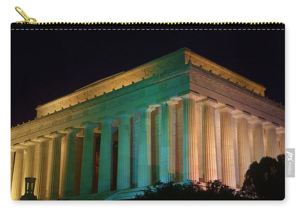 Lincoln Memorial At Night Carry-all Pouch
