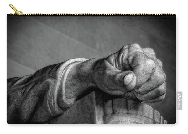 Lincoln's Left Hand B-w Carry-all Pouch