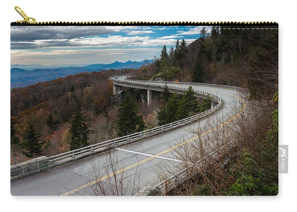 Linn Cove Viaduct Late Fall Carry-all Pouch