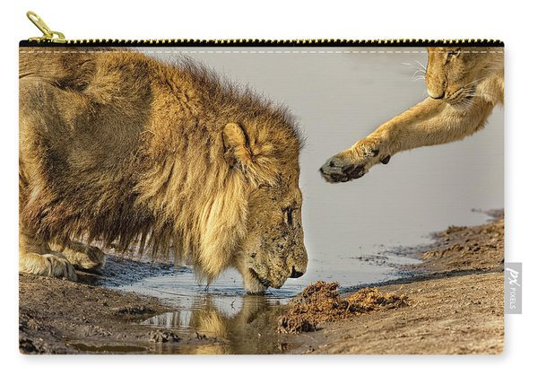 Lion Affection Carry-all Pouch