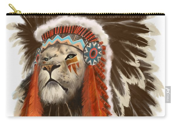 Lion Chief Carry-all Pouch