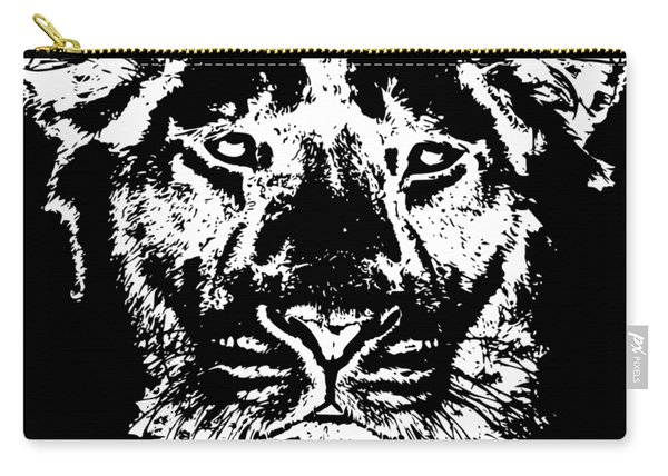 Lion Head Carry-all Pouch