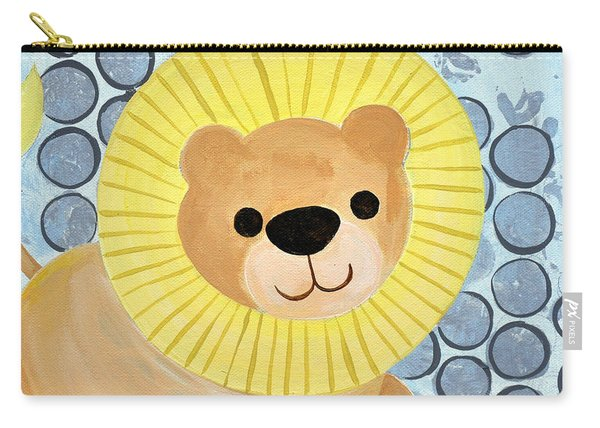The Blessing Of The Lion Carry-all Pouch