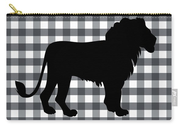 Lion Silhouette Carry-all Pouch