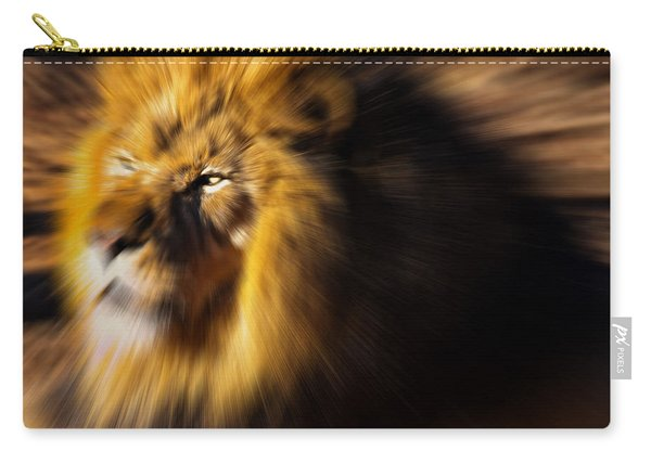 Lion The King Is Comming Carry-all Pouch