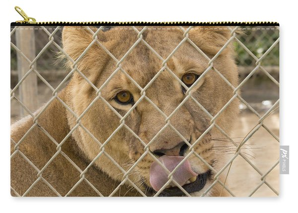 Lioness Licks Carry-all Pouch