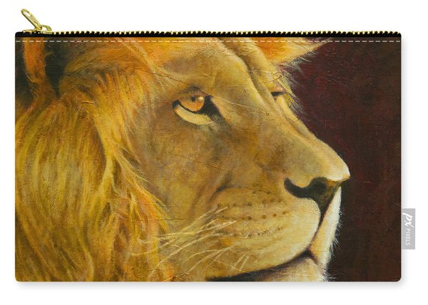 Lion's Gaze Carry-all Pouch