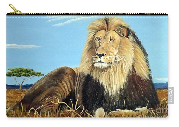 Lions Pride Carry-all Pouch
