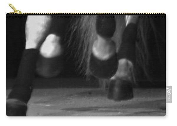 Carry-all Pouch featuring the photograph Lipizzan 1 by Catherine Sobredo