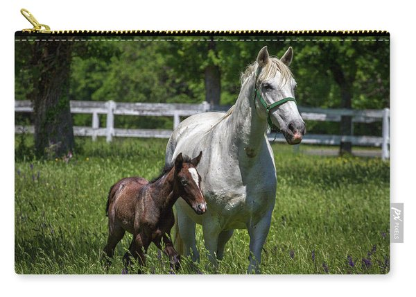Lipizzan Horses Carry-all Pouch