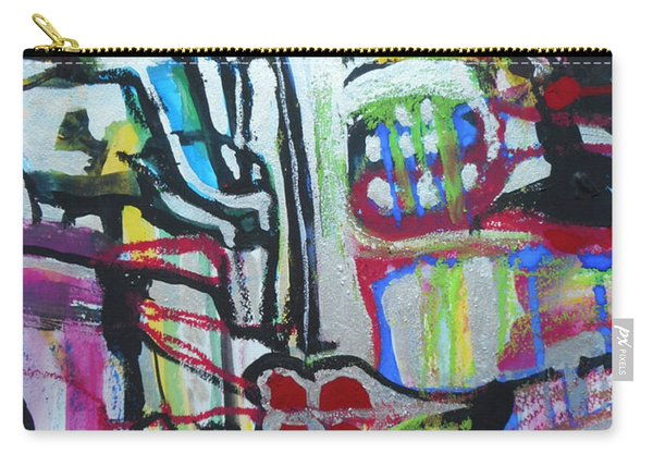 Lips Made Of Steel Carry-all Pouch