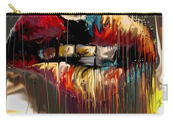 Lips Say It All Carry-all Pouch