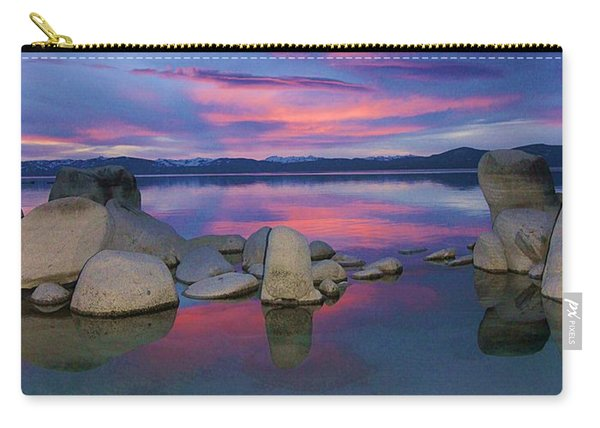 Carry-all Pouch featuring the photograph Liquid Dreams Portrait by Sean Sarsfield
