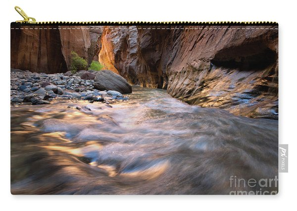 Liquid Gold Utah Adventure Landscape Photography By Kaylyn Franks Carry-all Pouch
