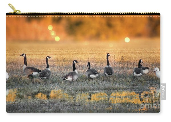 Carry-all Pouch featuring the photograph Little Piece Of Heaven by Susan Warren