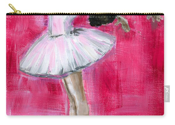 Little Ballerina #2 Carry-all Pouch