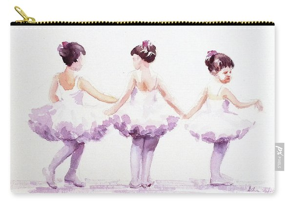 Little Ballerinas-3 Carry-all Pouch