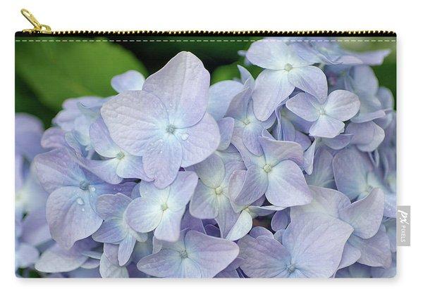 Little Blue Petals Carry-all Pouch