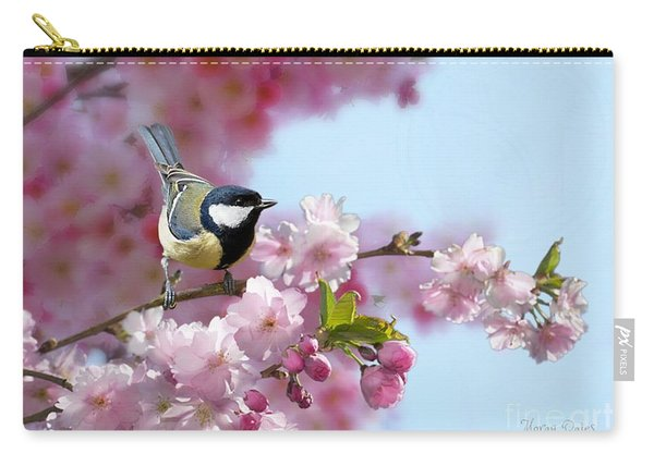 Little Coal Tit Carry-all Pouch