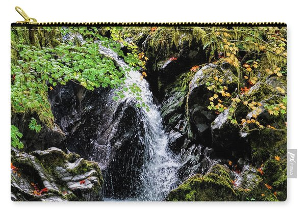Carry-all Pouch featuring the photograph Little Falls by Michael Hope