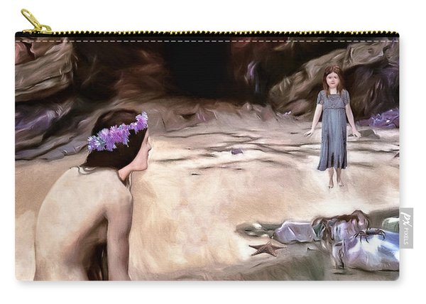 Little Girls Dream Carry-all Pouch