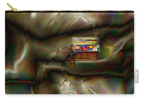 Little House On The Abstract Prairie Carry-all Pouch